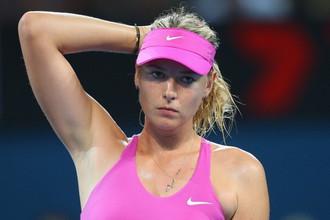 Россиянка Мария Шарапова проиграла Серене Уильямс в полуфинале турнира в Брисбене