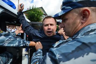 Соратник Алексея Навального Николай Ляскин