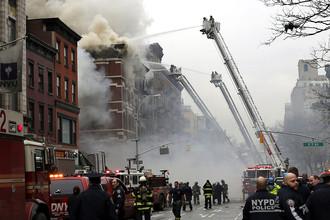 Манхэттен в огне и дыму