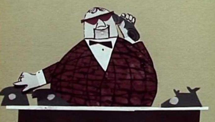 Кадр из мультфильма «Мистер Твистер» (1963)