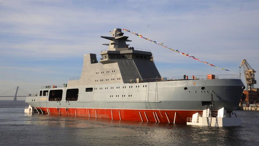 «Папанин» для Арктики: в России создан боевой ледокол