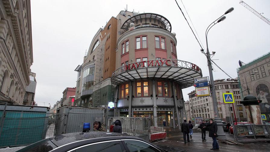 Торговый центр «Наутилус» на улице Никольская в Москве, 2012 год