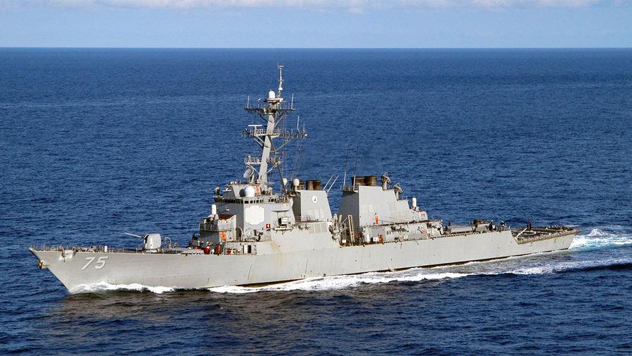 Американский эсминец направился к Черному морю