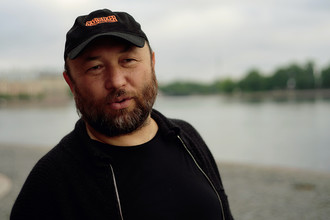 Режиссер Тимур Бекмамбетов в Санкт-Петербурге, 2016 год