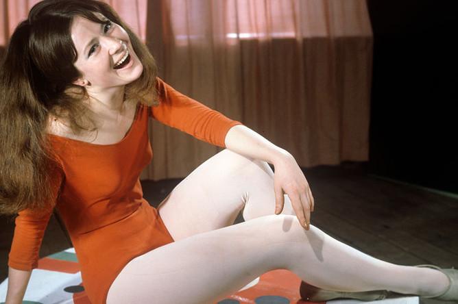 Актриса Московского театра юного зрителя Тамара Дегтярева, 1968 год