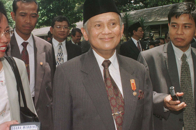 Бывший президент Индонезии Юсуф Хабиби