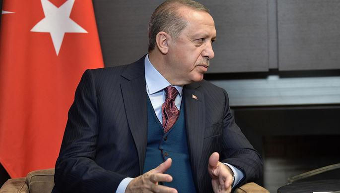 Эрдоган: соглашения Турции и США теряют силу