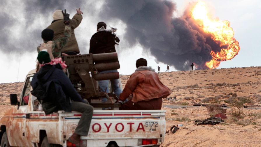 Передел нефти: чем обернется война в Ливии