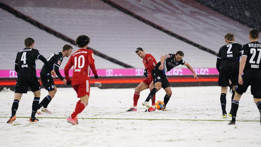 Эпизод матча «Бавария»- «Арминия»