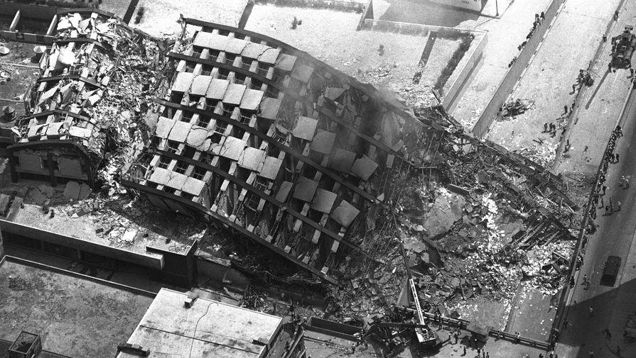 Последствия землетрясения в Мехико 19 сентября 1985 года