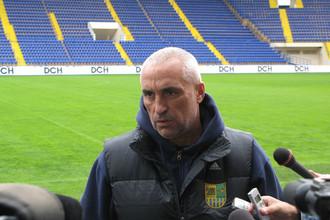 Александр Ярославский на стадионе «Металлист»