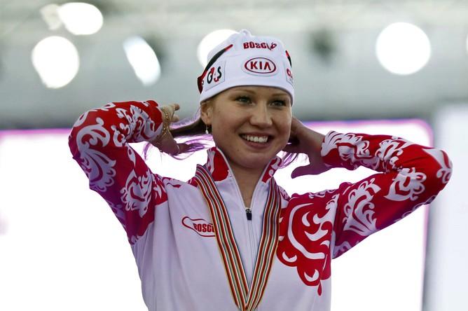 Ольга Фаткулина показала лучший результат на чемпионате мира в Сочи на дистанции 1000 м