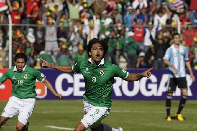 Марсело Морено открыл счет в матче с Боливией