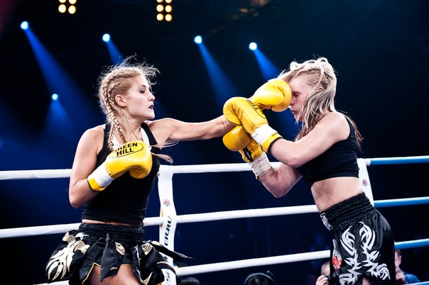 Соперницы иногда даже не подозревают, что на ринге Анастасия- настоящий боец