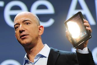 На четвертом месте в рейтинге основатель интернет-магазина Amazon Джефф Безос. Его стояние увеличилось на $11,3 млрд, до $34,4 млрд