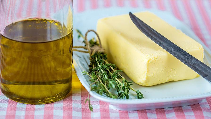 Сливочное или растительное масло полезнее при диете