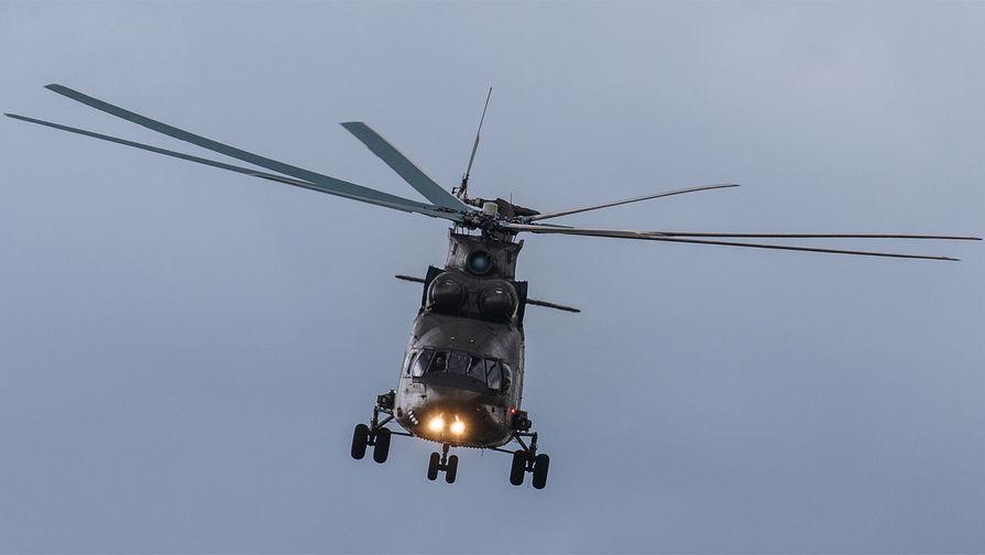 Второй день работы авиасалона МАКС-2017 в подмосковном Жуковском, 19 июля 2017 года. Транспортно-боевой вертолет Ми-35