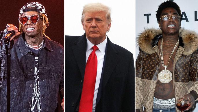 Свободу рэперам: кто остался недовольным амнистиями Трампа