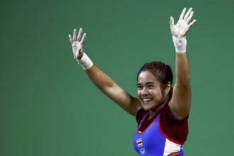 Тайская тяжелоатлетка Сопита Танасан стала сильнейшей среди спортсменок в весовой категории до 48 кг.