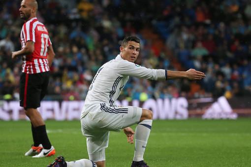 У Криштиану Роналду никак не идет мяч в ворота в этом сезоне в чемпионате Испании