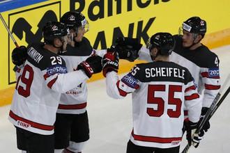 Канада разгромила Словению на чемпионате мира по хоккею