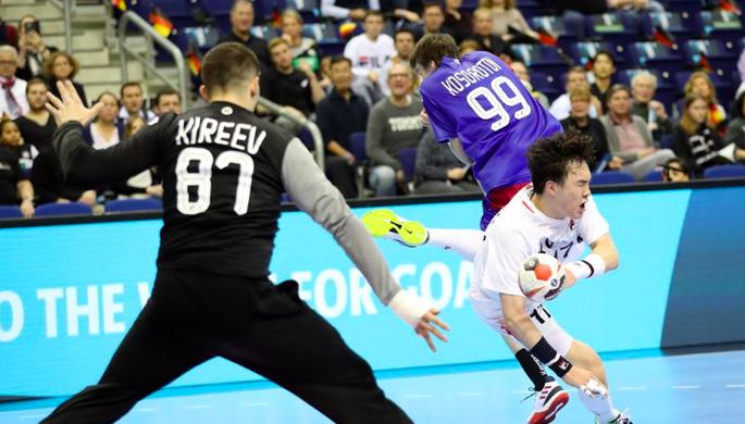 Сборная России на чемпионате мира по гандболу — 2019