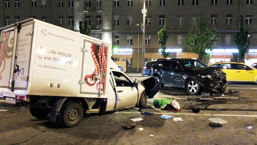 На Ставрополье столкнулись восемь машин