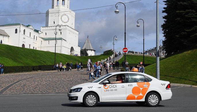Зависли в Казани: «китайский Uber» забуксовал в России