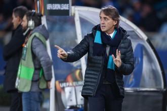 Главный тренер петербургского «Зенита» Роберто Манчини