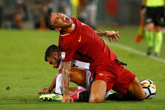 «Рома» и «Интер» бьются в матче чемпионата Италии