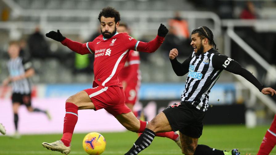 Мохамед Салах в матче «Ньюкасл» — «Ливерпуль»