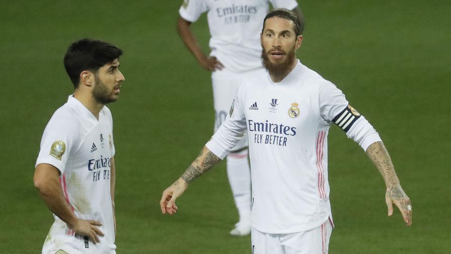 Марко Асенсио и Серхио Рамос в составе «Реала»