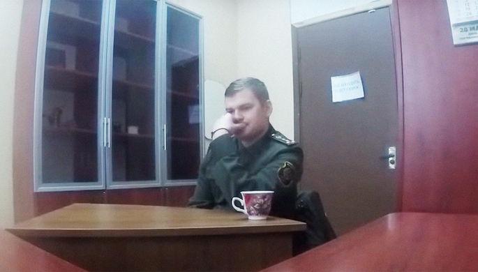 Белорусского офицера посадили за разглашение гостайны в Telegram