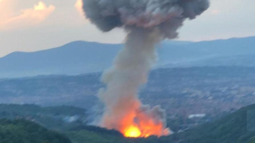 На оборонном предприятии в Сербии снова прогремели взрывы
