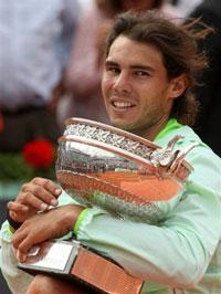 Надаль расстраивает Федерера