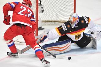 Год назад в Москве сборная России обыграла Германию в 1/4 финала