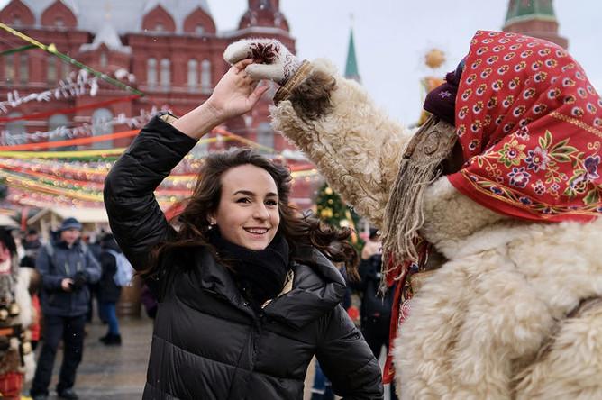 Масленичные гуляния в Москве, 2 марта 2019 года
