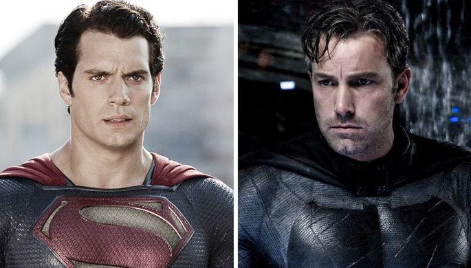 Бэтмен против Супермена: Аффлек и Кавилл вернутся во вселенную DС