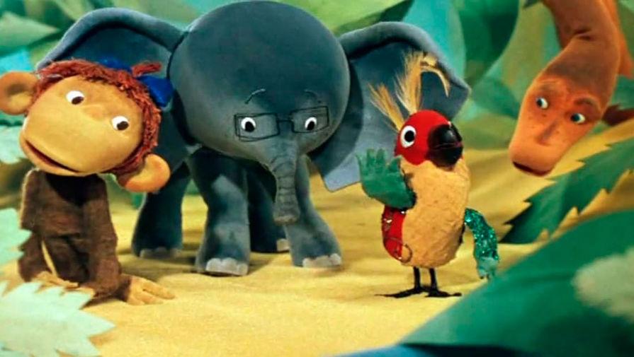 Кадр из мультипликационного фильма «38 попугаев» (1976 – 1991)