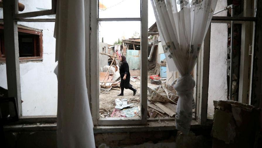 Удар по многоэтажке: Баку обвинил Ереван в обстреле города Гянджа