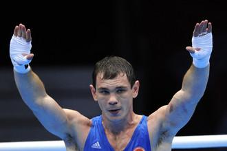 Егор Мехонцев завоевал золото боксерского турнира в категории до 81 кг
