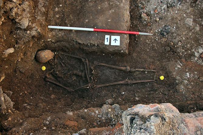 Останки Ричарда III, найденные археологами в сентябре 2012 года