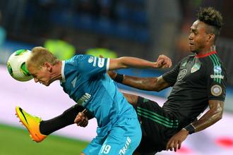 «Зенит» остался на третьем месте чемпионата России после победы над «Тереком»