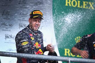 Себастьян Феттель одержал свою очередную победу на этапах Формулы-1
