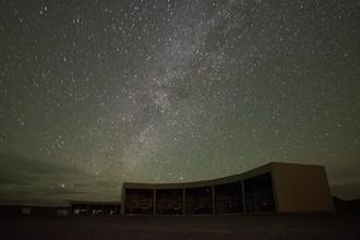Звездное небо над обсерваторией Telescope Array