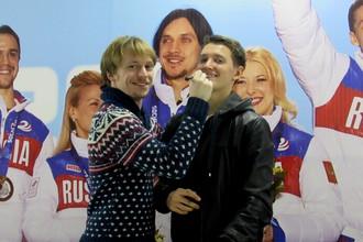 Сергей Воронов и Максим Ковтун на чемпионате России в Сочи.