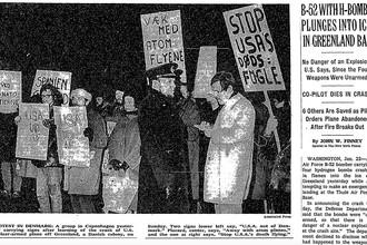 Статья New York Times 22 января 1968 года