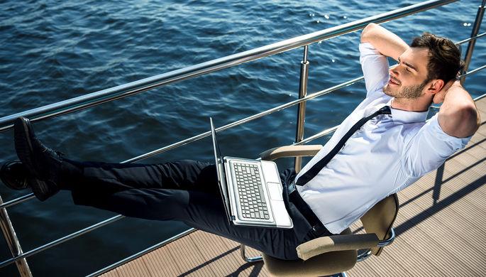 На работу в океан: круизные лайнеры превратят в офисы на воде