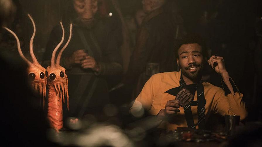 Дональд Гловер в роли Ландо в фильме «Хан Соло: Звездные войны. Истории»(2018)