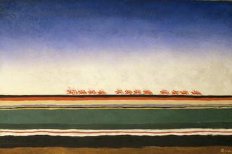 Казимир Малевич. Скачет красная конница. 1932